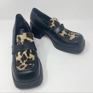 Unlisted Kenneth Cole Block Heel Platform Shoes 9